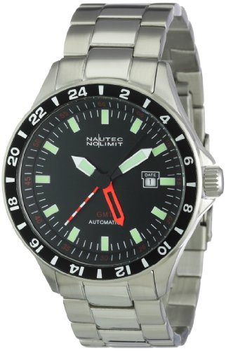Nautec No Limit Racing 2 RS2 AT-GMT/STSTSTBK- Orologio da uomo