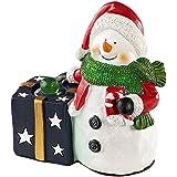 Décoration de Noël avec haut-parleur Bluetooth - Bonhomme de neige