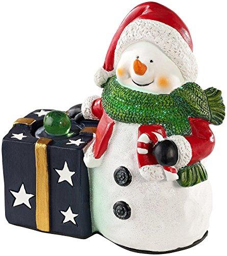 Callstel Musikbox, Bluetooth: Weihnachtlicher Schneemann Lautsprecher mit Bluetooth, 8 Watt (Batteriebetriebene Lautsprecher)