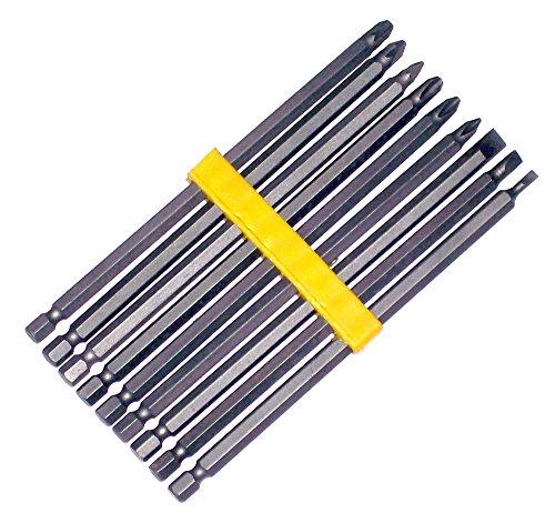 Preisvergleich Produktbild Prima Tools bit9l 150mm lang Serie Bit Set–Silber (9)