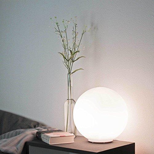Kugel Bodenleuchte modern Ø25 E27 60 Watt Tischleuchte Stehlampe Kugelleuchte Lampe von Wofi