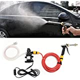 Generic 12V 60W Electric Car Pressure Sprayer Wash Pump Tool Kit