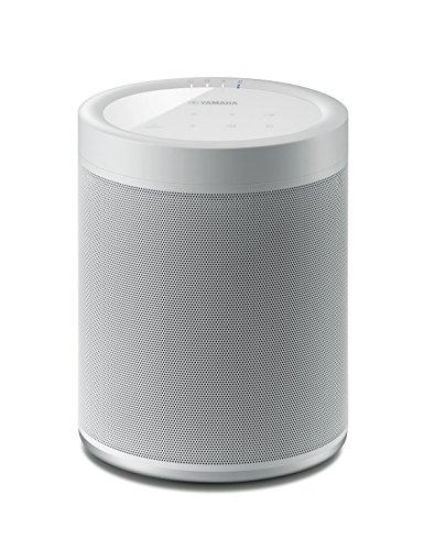Yamaha MusicCast 20 Soundbox (Kabelloser 2 Wege Netzwerk-Lautsprecher zum Musikstreaming ohne Grenzen - Multiroom WLAN-Speaker kompatibel mit Amazon Alexa) weiß