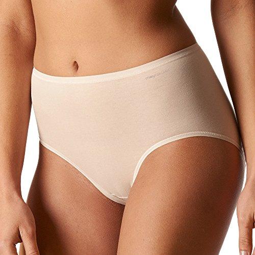 Taille Slip (Mey 2er Pack Damen Taillenslip - Organic - 29818 - Damen Slips aus Bio Baumwolle - Bodysize ohne Seitennähte - Farbe Schwarz- Größe 44)