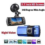 GOFORJUMP AT500 Full HD 2.7 Pouce Véhicule De Voiture Mini DVR Caméra Dash Enregistreur Vidéo 148 degrés dashcam Parking G-capteur de Vision Nocturne 130mega