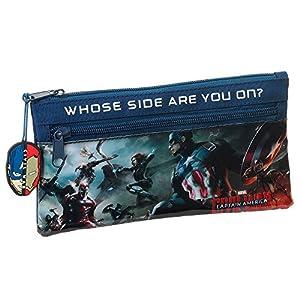 Avengers- Estuche portatodo Dos Cremalleras (SAFTA 811609029)