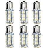 HOT SYSTEM™ 1156 7506 1003 1141 LED SMD 18 LED Bulbs Interior RV Camper White 6-pack