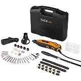 Tacklife RTD35ACL Advanced Multifunktionswerkzeug mit 80 Zubehör und 3 Vorsätze zum beliebten Allrounder für Hand- und Heimwerker