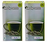 #6: Instant Green Coffee for Weight Loss- 25 Sachets(Pack of 2) Easy to Use
