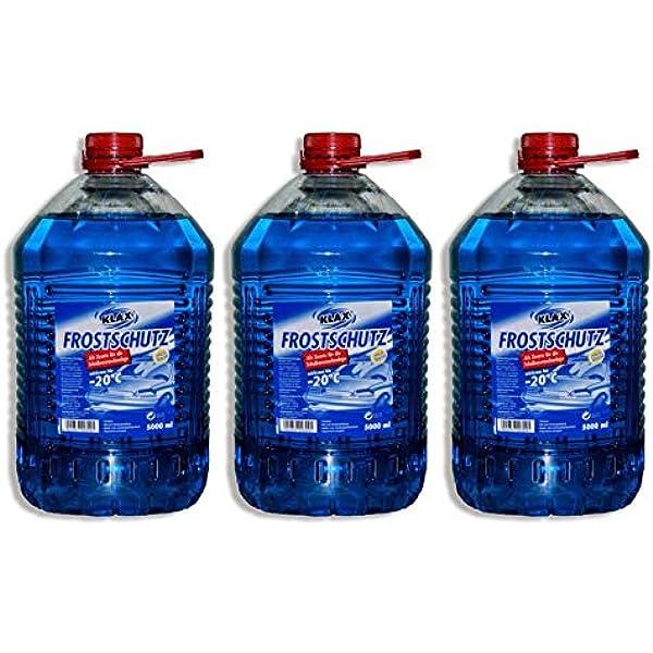 Klax 15 Liter Scheibenfrostschutz Gebrauchsfertig 20 C Auto