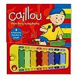 Image de Caillou : Mon livre xylophone : 8 chansons faciles à jouer