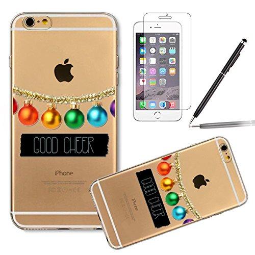 Durchsichtig Huelle für iPhone 5S, Felfy luxus Ultra Slim Bling Shiny Sparkle Diamant Dünnen Apple iPhone 5S 5 Cool Love Heart Muster Weiche Flexible Gel TPU Handy Tasche Back Case Cover Protective Zu #14
