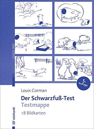 Schwarzfuss-Test-Testmappe (Beiträge zur Psychodiagnostik des Kindes)