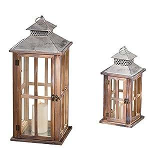 laternen set firola 2er set ohne kerzen k che haushalt. Black Bedroom Furniture Sets. Home Design Ideas