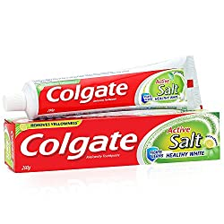 Colgate Active Salt Healthy White Toothpaste - 200 g
