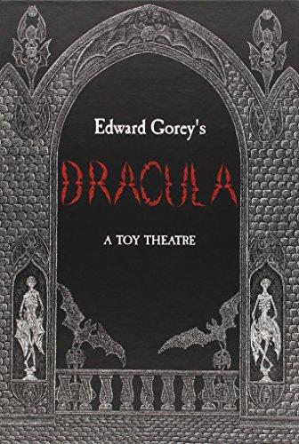 Edward Gorey's Dracula a Toy Theatre A648 por Edward Gorey