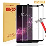 kleexs [2 Pack] Galaxy S9 Screen Protector, Samsung Galaxy S9 Tempered Glass 0.25mm Screen Protector, 9H Hardness, Bubble Free, Anti-Fingerprint HD Screen Protector Film
