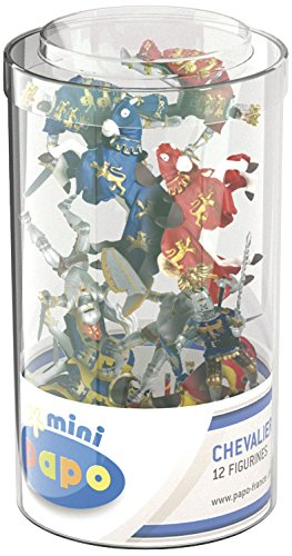 Papo 33016 Mini Tub'S Ritter, Spiel, Unisex-Kinder