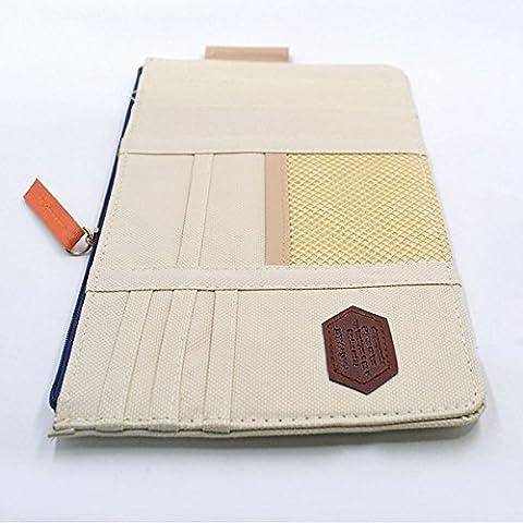 quickfashion multifunzione auto sole visiera CD Organizer cartella Custodia Borsa di stoccaggio auto per appendere borse Arrangement Card Case Holder