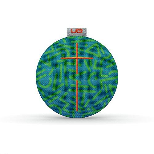 UE ROLL Altoparlante Bluetooth, Impermeabile, Resistente agli Urti, Verde/Grigio/Arancione