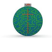 UE ROLL - Altavoz Bluetooth ultra portátil (impermeable, resistente a golpes), color verde