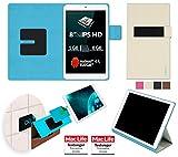 reboon Hülle für Allview Viva Q8 Pro Tasche Cover Case Bumper | in Beige | Testsieger