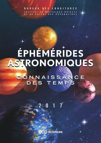 Ephémérides astronomiques : Connaissance des temps