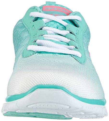 Skechers Flex Appeal Damen Sneakers Weiß (WMT)