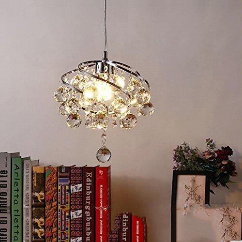 18w Laterne (ZHFC-veranda, veranda, droplight, schlafzimmer, flur, treppe, drei crystal lampe, korridor, europäischen stil, balkon, kleinen, kurzen modernen lampen und laternen,einzige lampe.,18 watt,led - licht 'tricolor')
