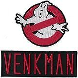 Ghostbusters Cosplay Movie Costume Morale Patch Iron On by Titan One Cazafantazmas Parche Bordado...