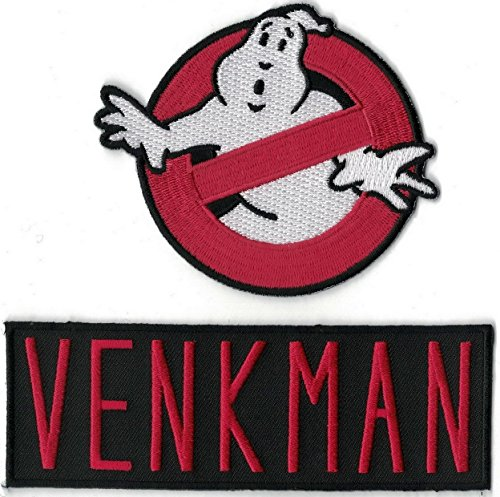 Ghostbusters Cosplay Movie Costume Morale Patch Iron On Aufnäher Aufbügler Patch