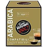 16 Capsule Caffè Vergnano 1882 Arabica Compatibili Lavazza a Modo Mio