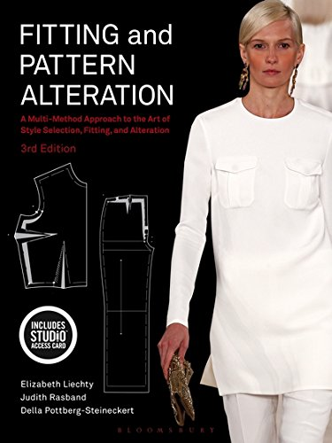 Fitting and Pattern Alteration: Bundle Book + Studio Access Card por Elizabeth Liechty