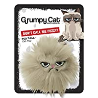 Rosewood Pet Products Grumpy Cat Hair Ball Toy
