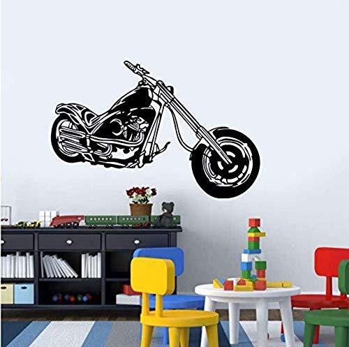 Wandaufkleber Retro Klassische Diy Abnehmbare Vinyl Poster Chopper Wandaufkleber Aufkleber Wandbild Dekoration Raum 59X39 Cm