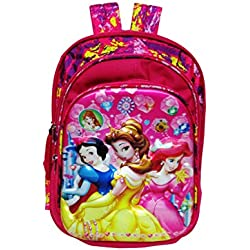 Disney Princess 5D embossed Big school bag waterproof pink/multicolor eh251