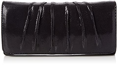 Van Dal Women's Aloe Clutch Blue (Midnight Reptile)