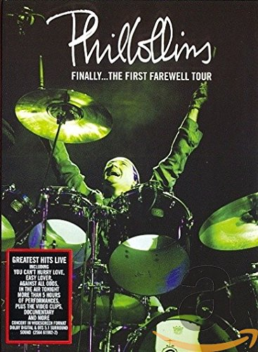 Phil Collins – Finally … The first Farewell Tour inkl. Booklet [2 DVDs]