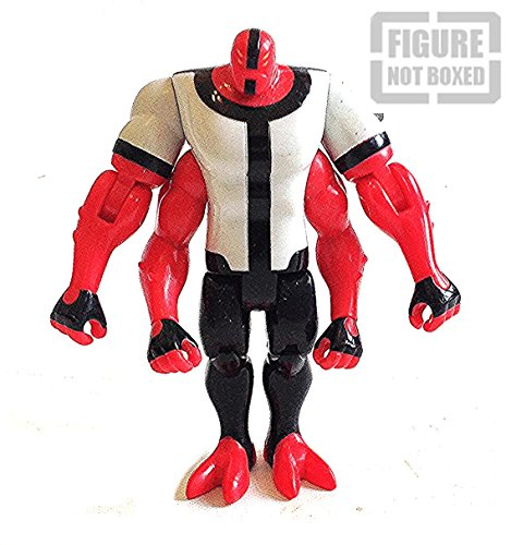 "Image of BEN 10 FOUR ARMS FOURARMS 4"" toy figure from The Original 10 [not boxed]"