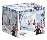Disney Frozen II Becher zum Selbstbemalen: Tasse zum Ausmalen von Frozen II Motiven, 6 verschiedene Farben, Pinsel