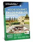 WONDERBOX Caja Regalo -Noche Gourmet EN LOS PUEBLOS MÁS Bonitos- 1.850 estancias para Dos Personas