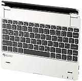 GeneralKeys Zubehör zu Tablet PC: Tastatur mit Alu-Cover für 9,7