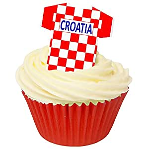 Pack of 12 perfectly cut Croatia Football Shirts by CDA Products 201-422