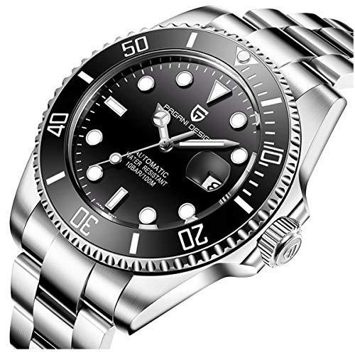 Pagani Design Automatic Divers beobachtet die analoge Automatik-Uhr der Männer mit Edelstahlband