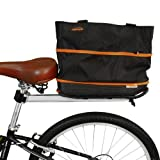 Ibera Fahrrad schnellverschlussbetätigung Umweltfreundlich erweiterbar wiederverwendbar Tasche, 16-litre
