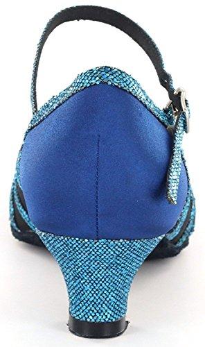 DSOL CLASSIC , Damen Tanzschuhe schwarz schwarz 38, blau - blau - Größe: 41 - 5