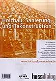 Holzbau: Sanierung und Rekonstruktion. Tagungsband zum 8. Holzbauforum 2008 -