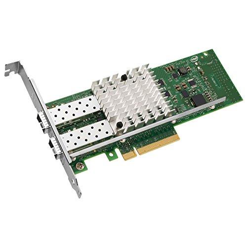 i10Gb X520-DA2 konvergierter Ethernet-Netzwerkadapter mit zwei Schnittstellen X520-DA2 Intel 82599 Controller RJ-45 1 GbE/10 GbE Catergory 6/6A PCIe v2.0, mit Standard- und Low-Profile-Halterungen (Standard V2)