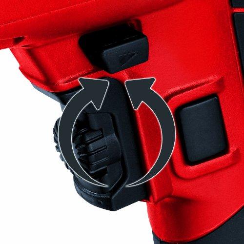 Einhell Bohrhammer TC-RH 800 E (800 W, 2,5 J,Bohrleistung Ø in Beton 26 mm, SDS-Plus-Aufnahme, Metall-Tiefenanschlag, Koffer) - 6