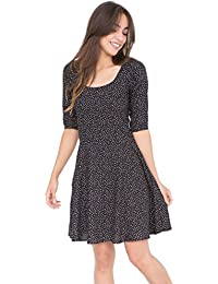 likemary Smock Dress with 3/4 Sleeves